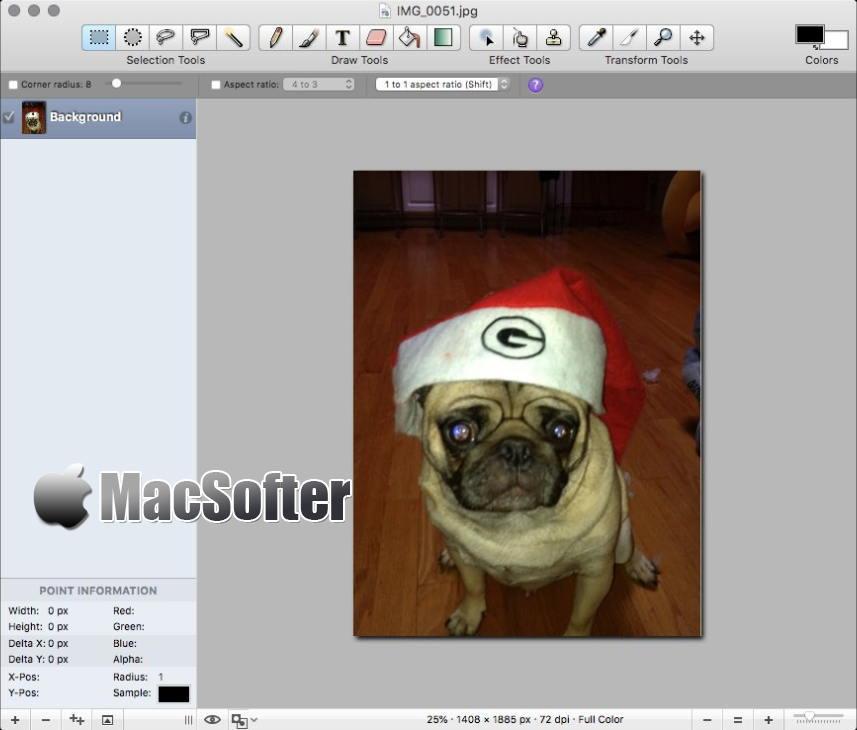 [Mac] Seashore :支持多图层的图像编辑软件