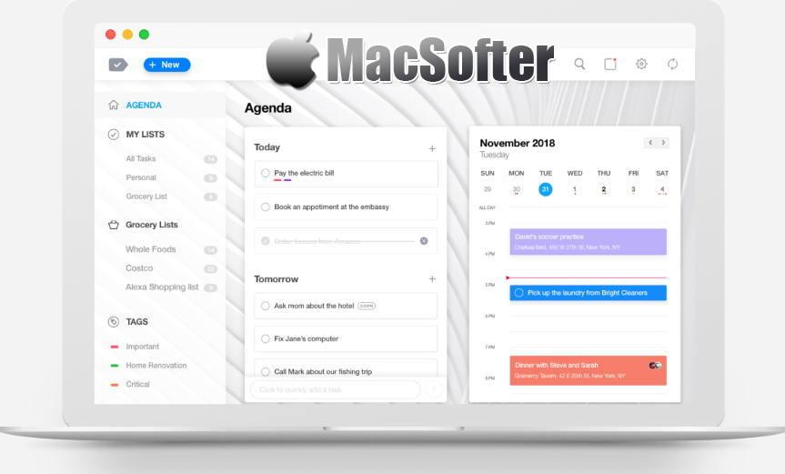 [Mac] Any.do : todo待办事项清单软件