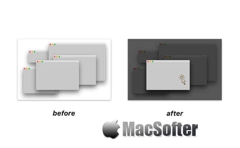 [Mac] FocalPoint : 专注于指定窗口的聚焦软件