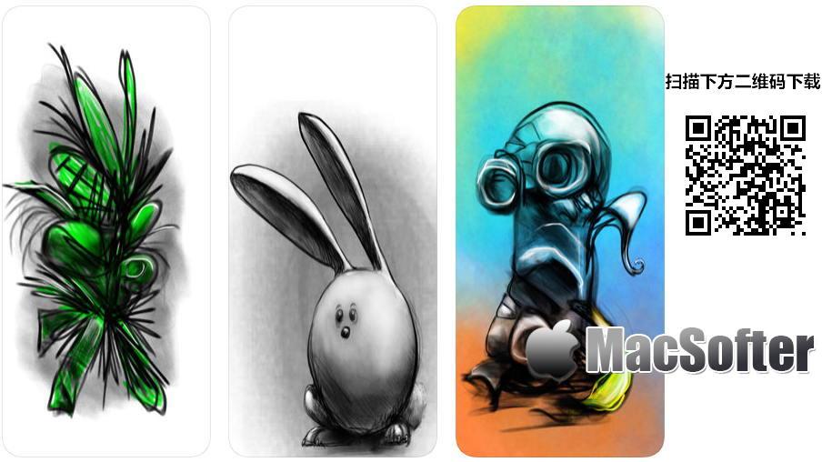 [iPhone/iPad限免] Asketch : 好用的素描绘画软件