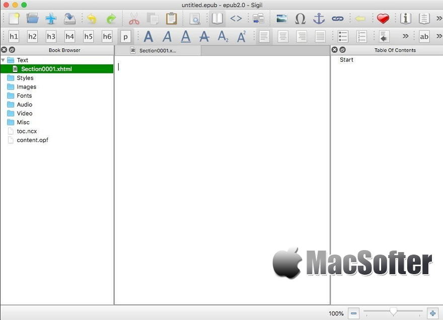[Mac] Sigil : 所见所得的ePub电子书制作软件