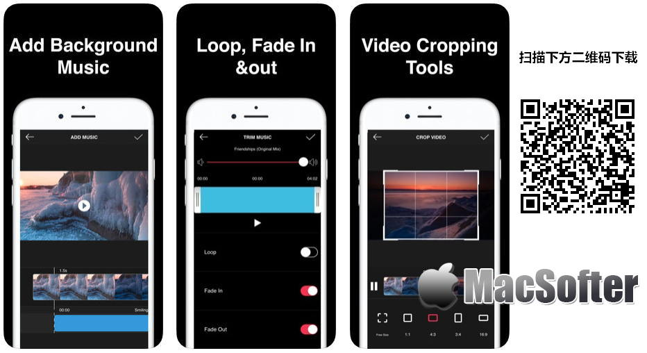 [iPhone限免] Add Music to Videos Editor :方便好用的视频剪辑软件