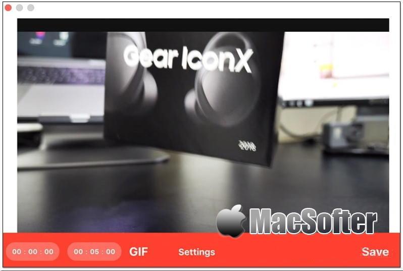 [Mac] Stacc : 好用的视频转Gif动图软件