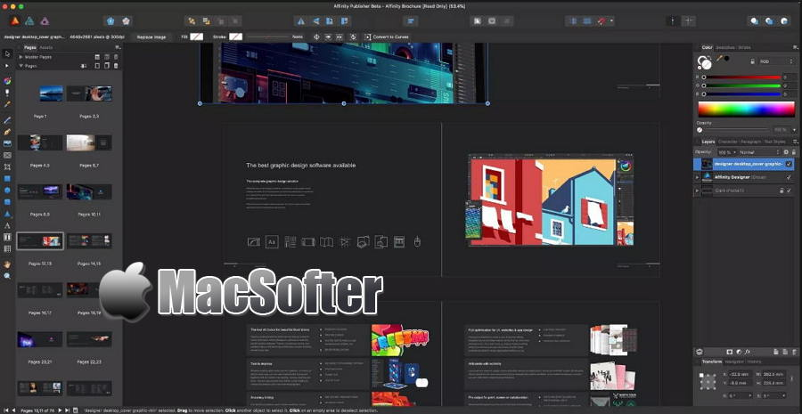 [Mac] Affinity Publisher : 专业的排版软件