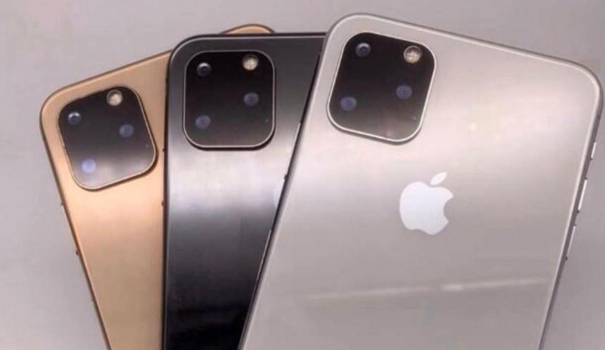 2019山寨iPhone 11实体机曝光 - 方形三镜头和刘海设计