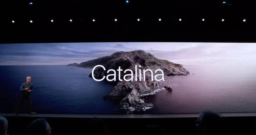 macOS 10.15 Catalina壁纸下载 - 原厂高清桌面壁纸下载