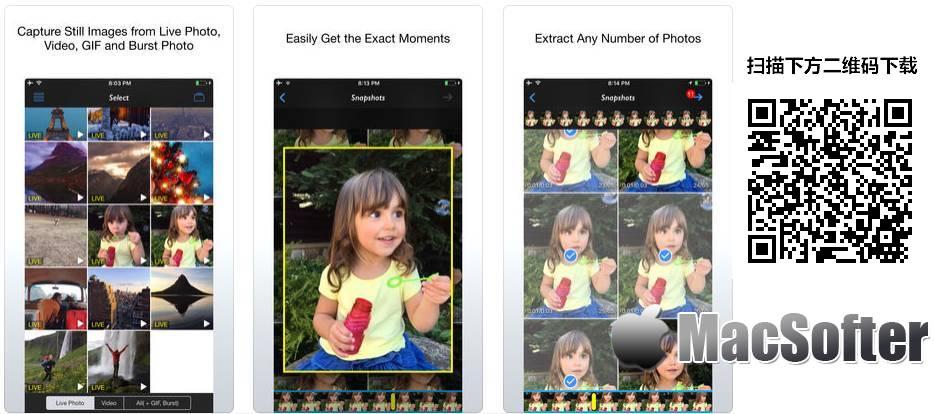 [iPhone/iPad限免] Live 2 Photos : 从LivePhoto、视频以及 GIF中提取静态照片