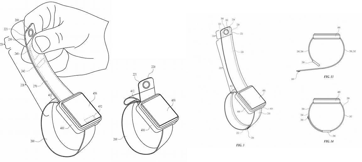 苹果试图为Apple Watch加入相机功能
