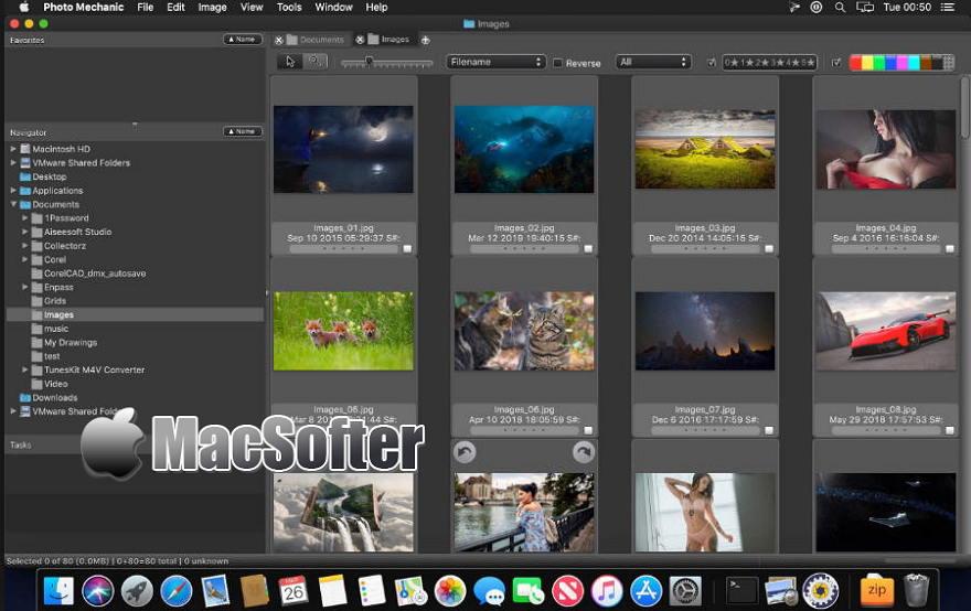 [Mac] Photo Mechanic : 专业的看图软件及图片管理软件