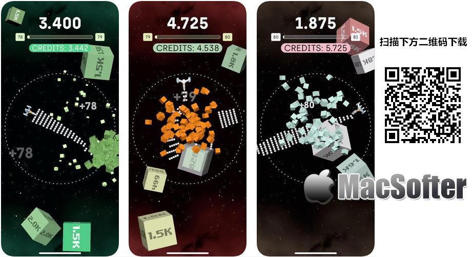 [iPhone/iPad限免] AstroBlast : 拯救宇宙的太空飞机射击游戏