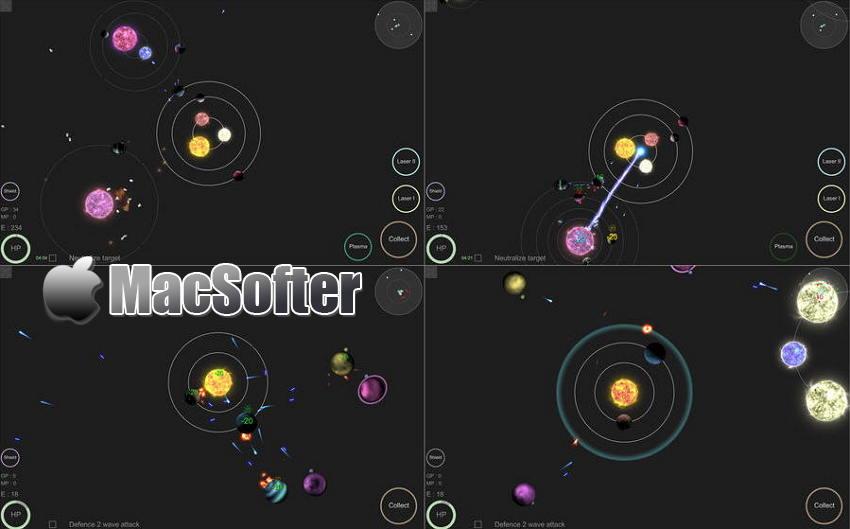 [Mac] mySolar(我的宇宙) : 扮演上帝建立星系帝国的游戏