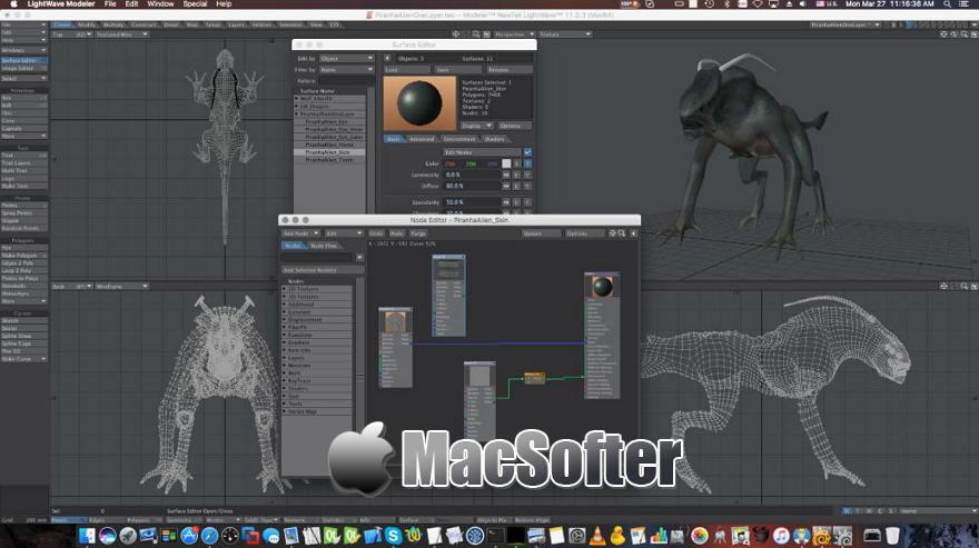 [Mac] LightWave 3D : 专业的三维动画设计制作软件