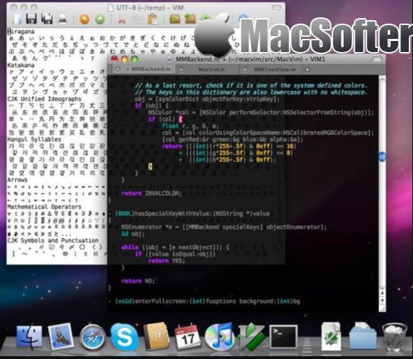 [Mac] MacVim : 好用的Vim编辑器