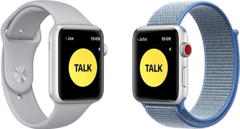 苹果因安全问题暂时禁用Apple Watch对讲机功能