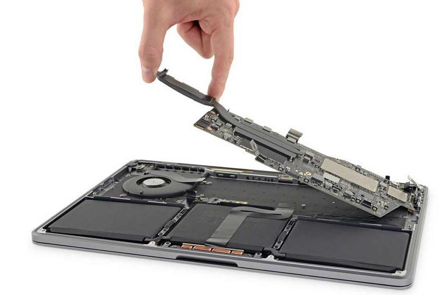 2019款13寸MacBook Pro拆解显示 :无法自行更换SSD和内存