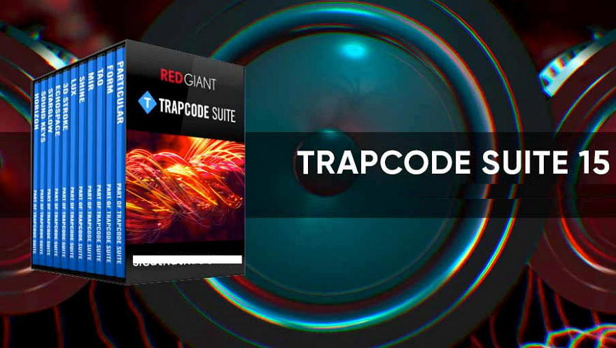 [Mac] Red Giant Trapcode Suite : 红巨星粒子套装AE特效插件