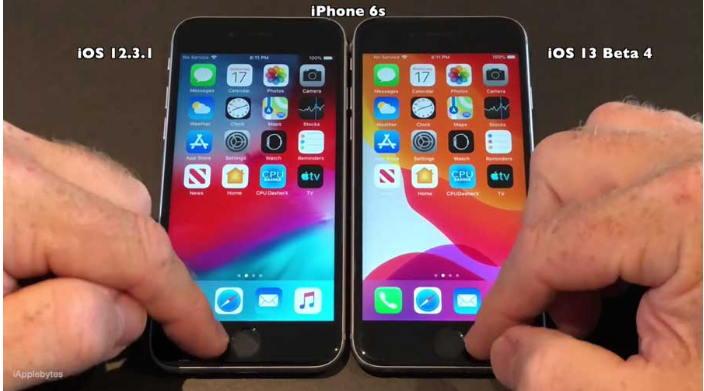iOS 13 Beta与iOS 12.3.1速度测试报告来了 - 至少目前没有快