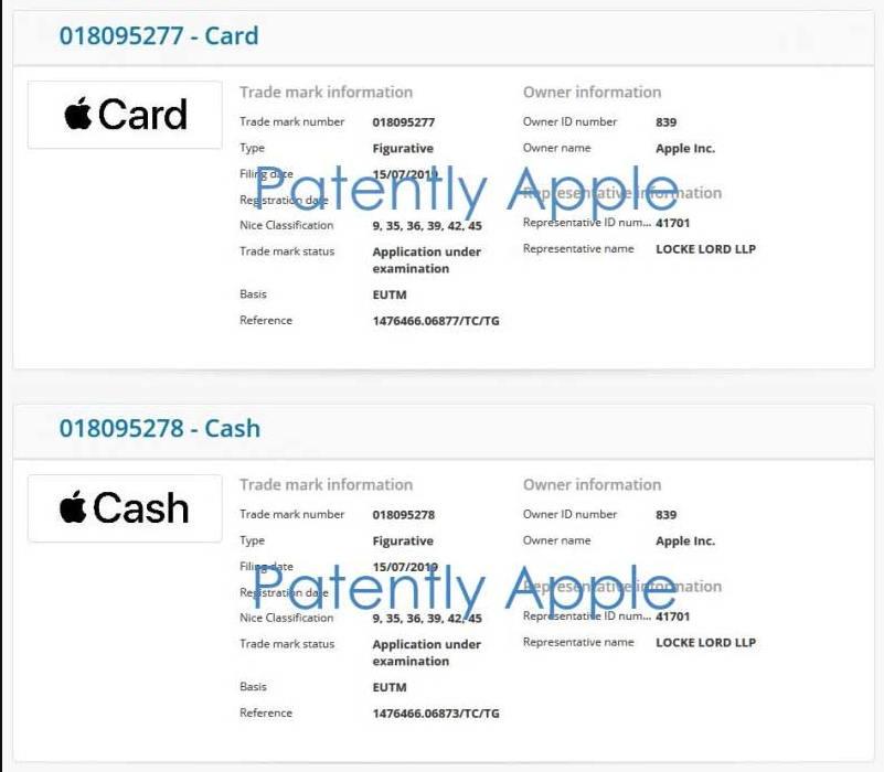香港也将迎来Apple Card - 苹果已经正式注册相关商标