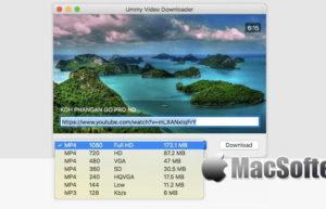 [Mac] Ummy Video Downloader : 在线网页视频下载工具