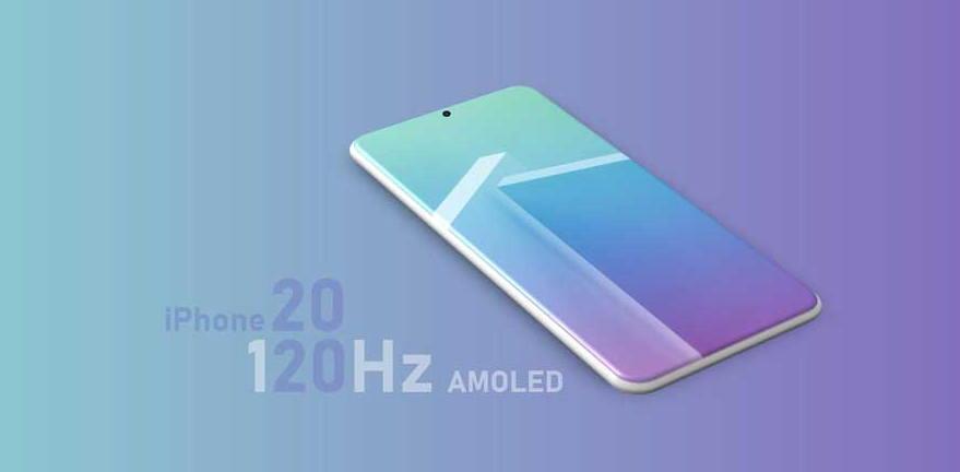 2020年iPhone将搭120Hz刷新率的OLED屏幕
