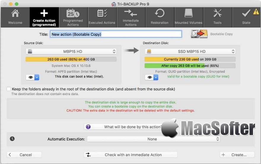 [Mac] Tri-BACKUP Pro : 专业的数据备份软件