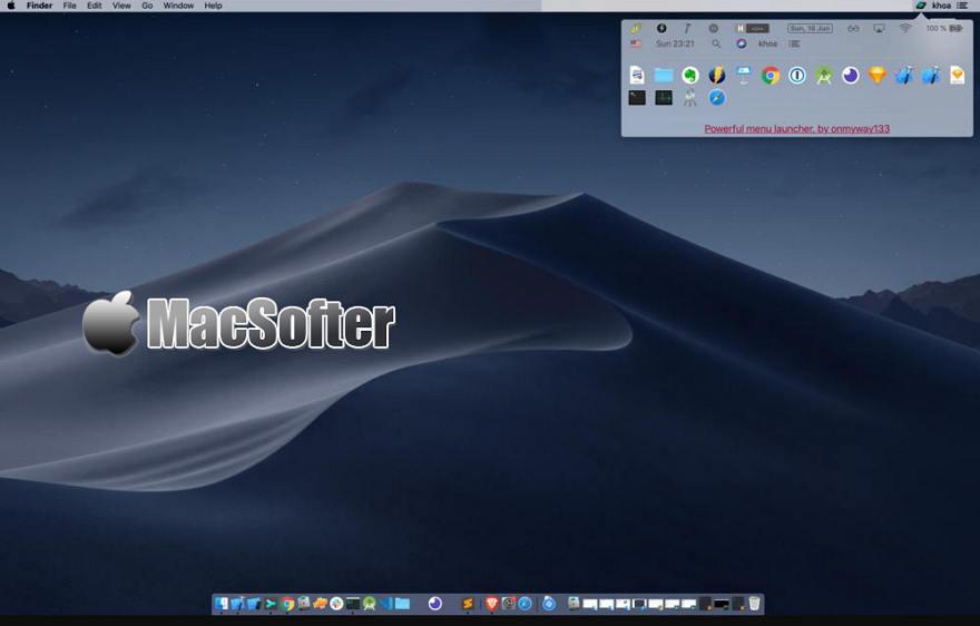 [Mac] Menu Launcher : 菜单栏的快速启动及文件快速打开工具