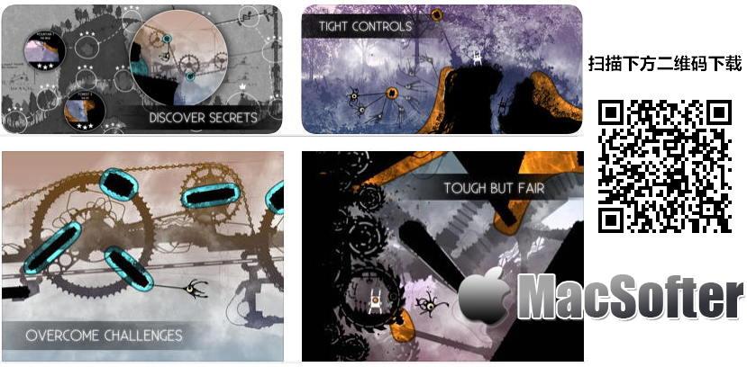 [iPhone/iPad限免] Ocmo :横版物理闯关游戏 iOS限免 第1张