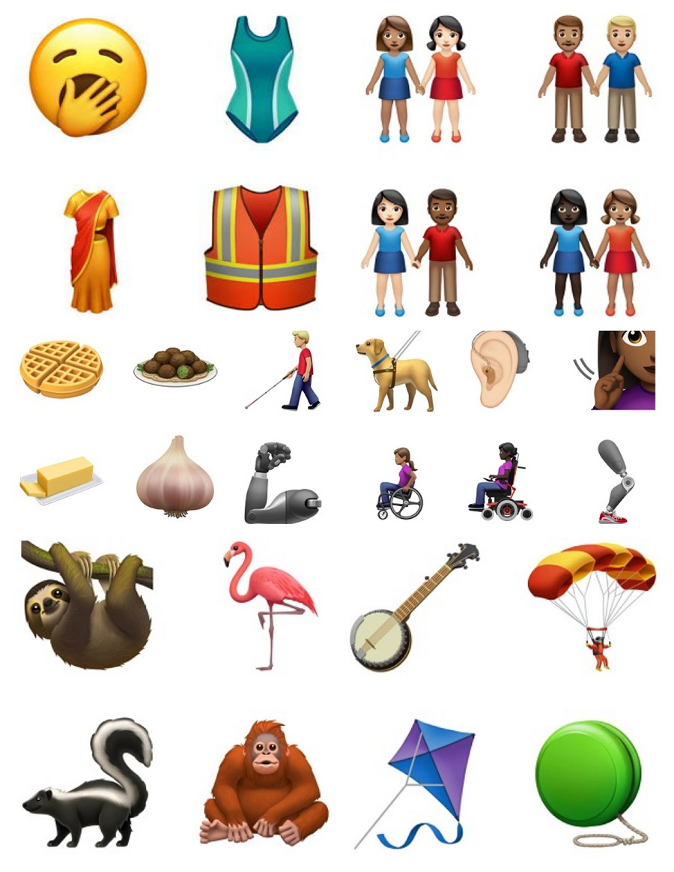 iOS 13加入的全新iPhone Emoji表情抢先看