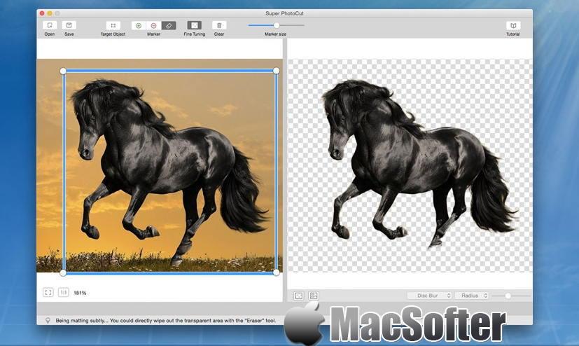 [Mac] 超级抠图(Super PhotoCut) : 好用的抠图软件