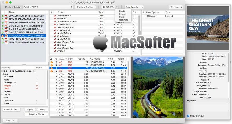 [Mac] PDF Checkpoint : PDF批量编辑设置工具