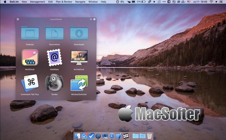 [Mac] LaunchPanel : 应用程序快速启动及文件快速访问工具