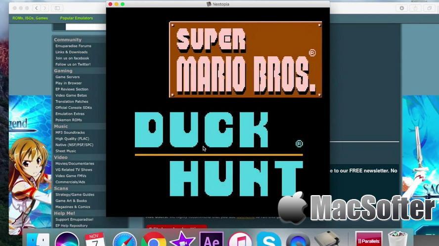 [Mac] Nestopia :任天堂NES游戏模拟器
