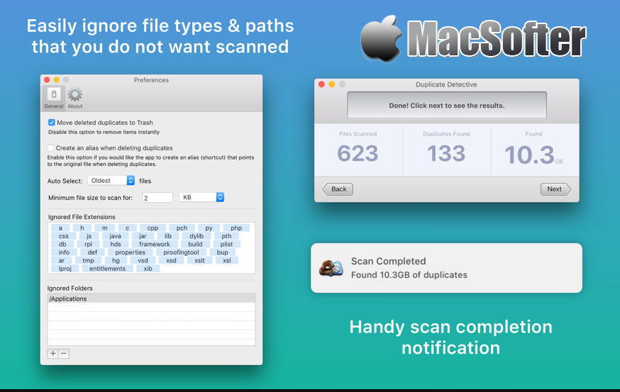 [Mac] Duplicate Detective : 重复文件查找清理工具
