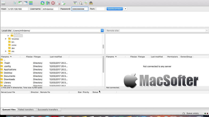 FileZilla for Mac : 快速可靠的Mac版ftp工具客户端