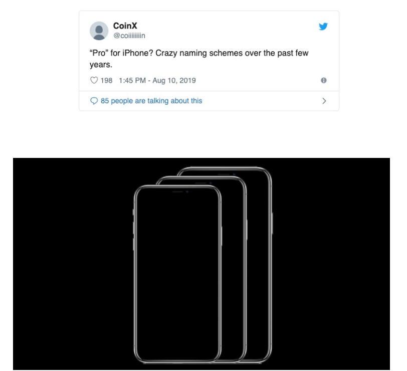 """2019苹果新iPhone可能命名""""iPhone Pro"""" 苹果新闻 第1张"""