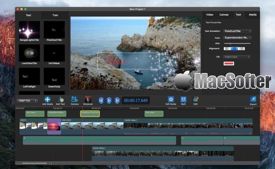 [Mac] Movie Edit Pro : 专业的视频编辑软件 Mac视频处理 第1张