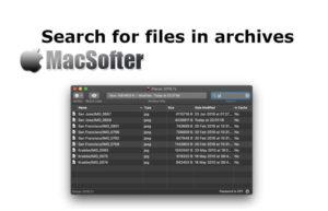 [Mac] ArchCommander : 压缩包及存档文件查看管理工具