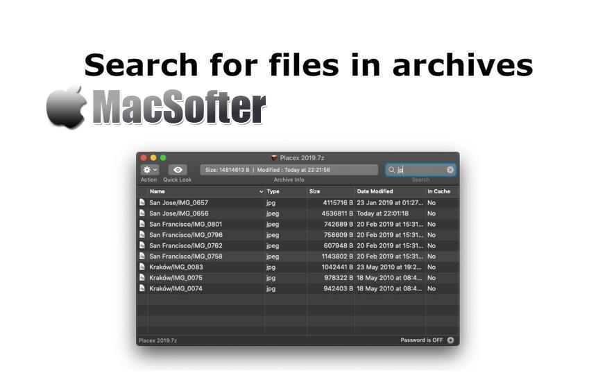[Mac] ArchCommander : 压缩包解压缩及存档文件查看管理工具 Mac解压工具 第1张