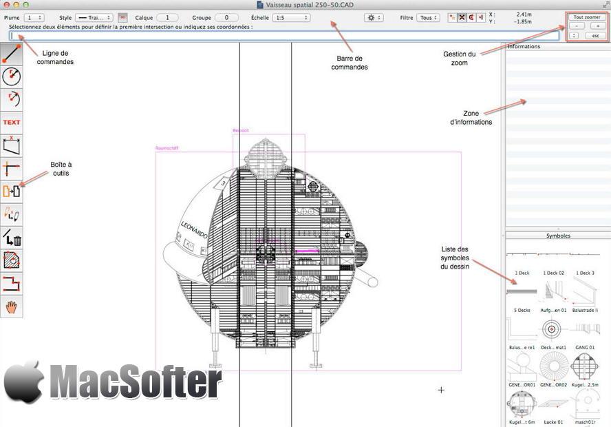 [Mac] CADintosh X : Mac版CAD绘图软件