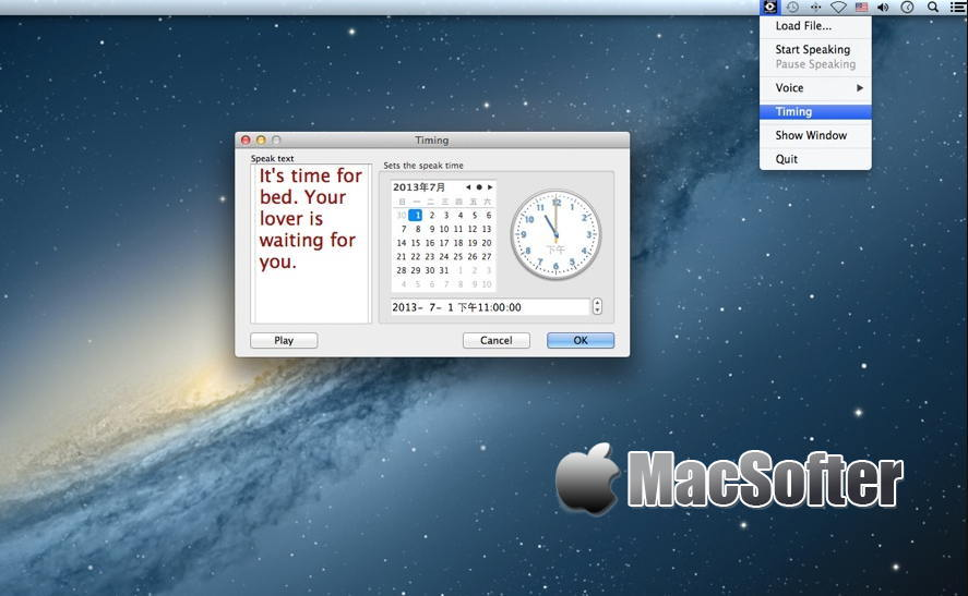 [Mac] Text Speaker Star + Export : 文本语音朗读软件 Mac办公软件 第1张