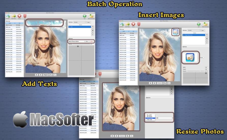 [Mac] 图片批量处理Batch Photo Editor :图片批量编辑处理软件 Mac软件 第1张