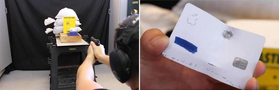 集安全隐私防弹于一身的钛合金Apple Card