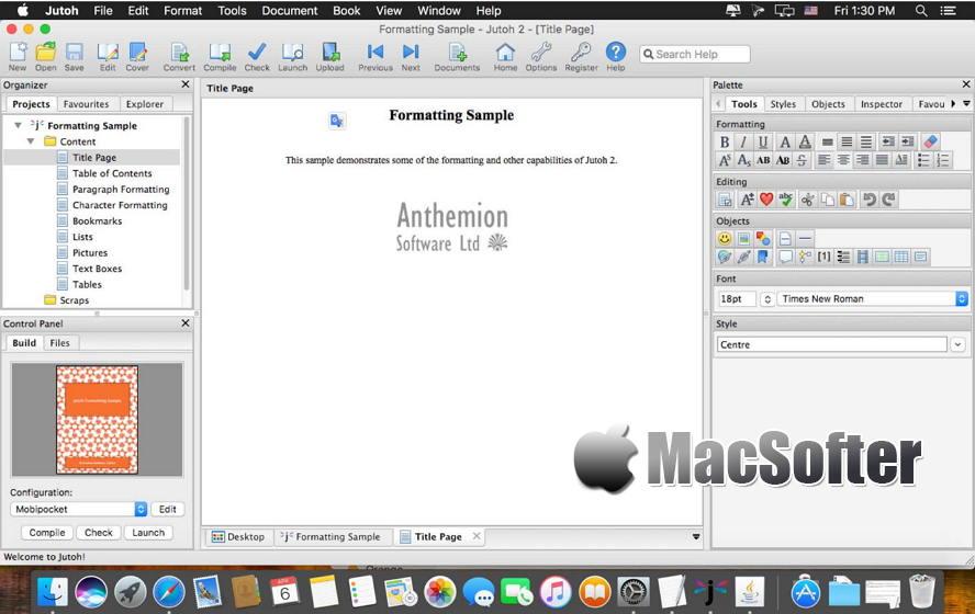 [Mac] Jutoh : 电子书制作软件 Mac办公软件 第1张