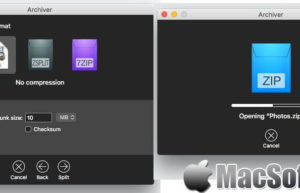 [Mac] Archiver : 压缩解压缩工具