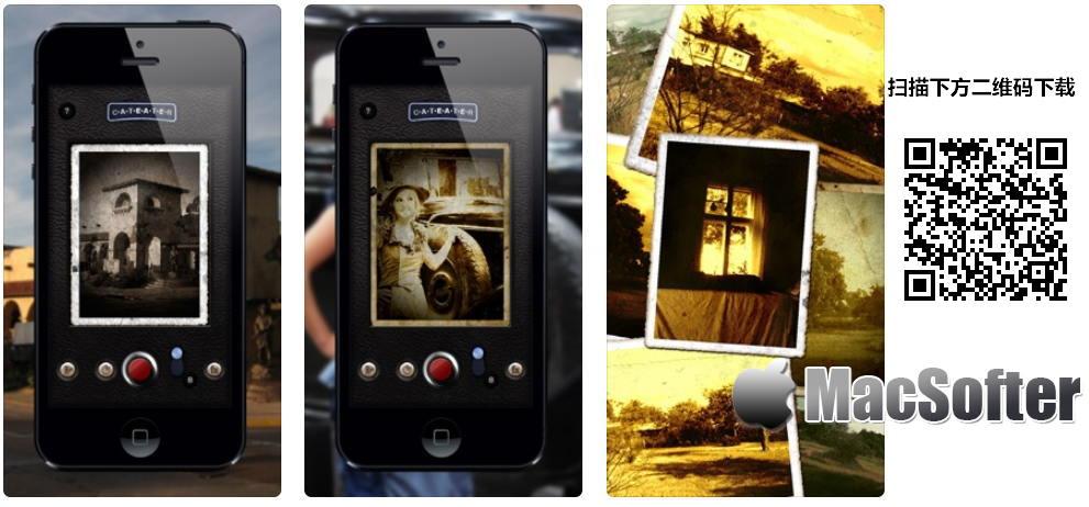 [iPhone/iPad限免] 旧相机 :复古的旧照片风格的相机软件 iOS限免 第1张