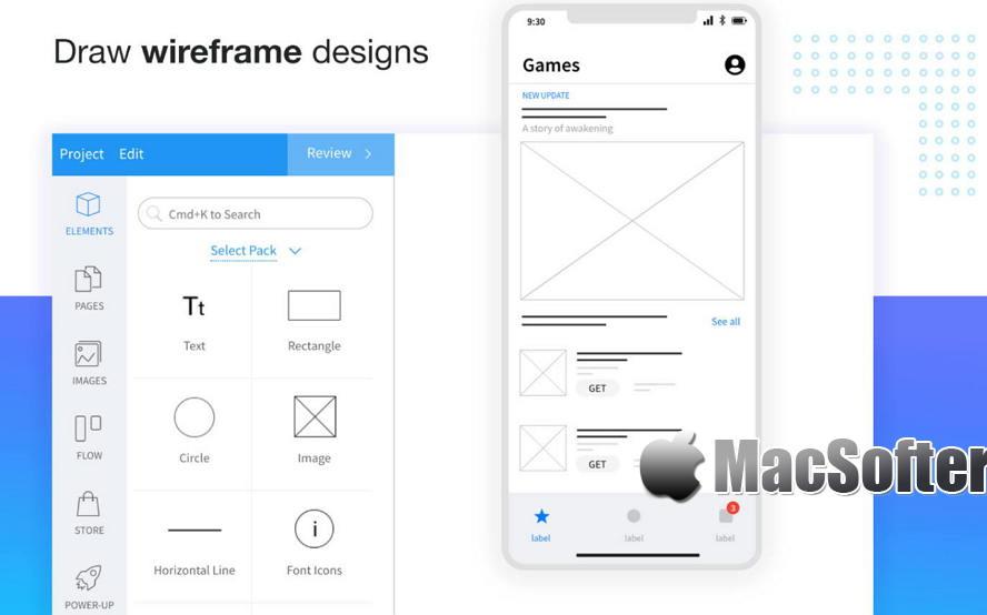 [Mac] MockFlow :专业高效的原型设计工具 Mac设计工具 第1张