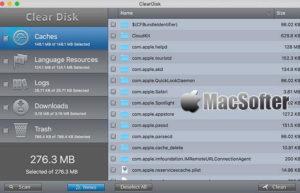 [Mac] ClearDisk : 系统清理优化软件