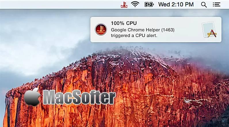 [Mac] Coolant : CPU及内存消耗监控软件