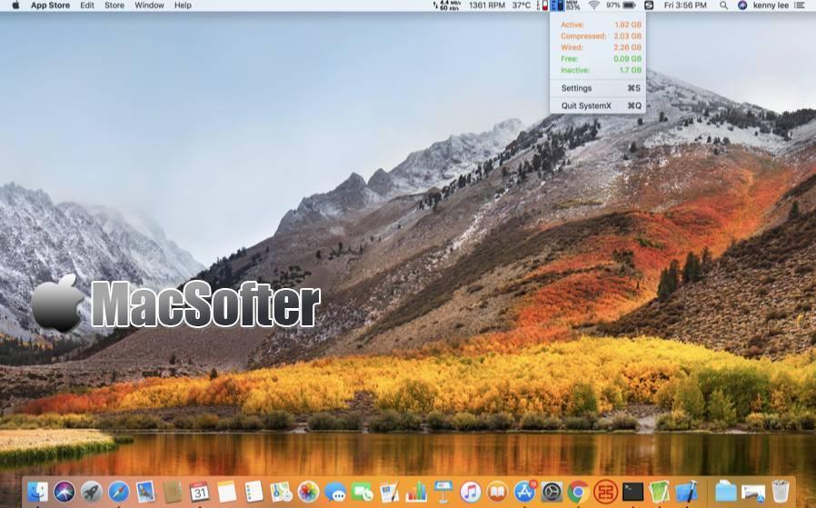 [Mac] 系统助理 : 系统监控程软件
