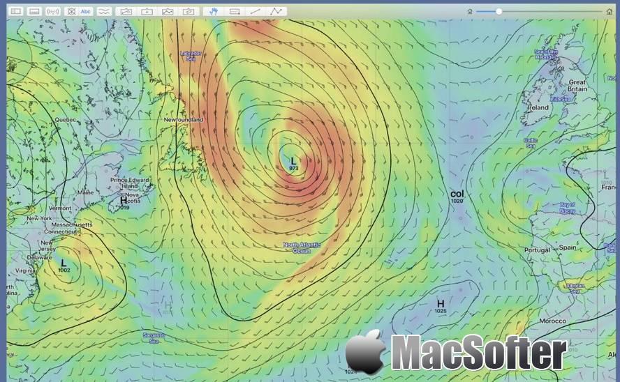[Mac] LuckGrib : GRIB数据阅读器